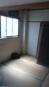 リフォーム前の寝室